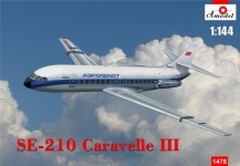 AMODEL 1478 SE AVIATION CARAVELLE III 1:144