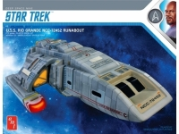 AMT 1084 1:72 STAR TREK DEEP SPACE NINE USS RIO GRANDE NCC72452 RUNABOUT
