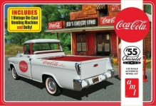 AMT 1094 1:25 COCA COLA 1955 CHEVY CAMEO PICKUP TRUCK