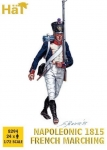 HAT 8294 1:72 NAPOLEONIC 1815 FRENCH INFANTRY MARCHING (24)