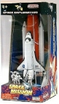REALTOY RT38921 SPACE SHUTTLE W/BOOSTER & ASTRONAUTS DIE CAST PLAYSET