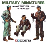 TAMIYA 35001 1:35 GERMAN ARMY TANK CREW (3)