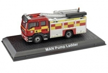 MAGAZINE AT4144110 1:72 MAN PUMP LADDER, FIRE ENGINE