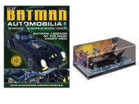 MAGAZINE BAT68 1:43 BATMAN BATMOBILE BATMAN -204 LEGENDS OF THE DARK KNIGHT