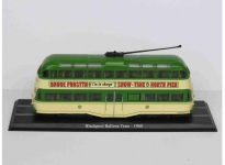 MAGAZINE BUS4648101 1960 BLACKPOOL BALLOON TRAM, GREEN/CREME