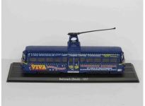 MAGAZINE BUS4648103 1937 BRUSH RAILCOACH TRAM, BLUE