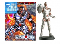 MAGAZINE CDCUK050 1:21 CYBORG DC SUPERHERO COLLECTION