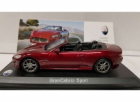 MAGAZINE MAS04 GRANCABRIO SPORT, DARK RED