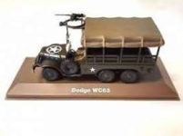 MAGAZINE MILBL16 1:43 DODGE WC63, GREEN/SAND