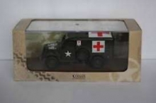 MAGAZINE MILBL31 1:43 DODGE WC 54 RED CROSS, GREEN