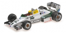 MINICHAMPS 547831801 1983 WILLIAMS FORD FW08CC AYRTON SENNA DONINGTON PARK 1983