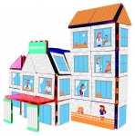 BRAINTOYS IMA-HOS SET HOSPITAL 174 PIEZAS