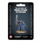 WARHAMMER 99070101032 S/M PRIMARIS LIEUTENANT WITH POWER SWORD