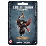 WARHAMMER 99070101034 BLOOD ANGELS CHAPLAIN WITH JUMP PACK