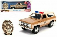 JADA 31111 1:24 1980 BLAZER W/BADGE STRANGER THINGS