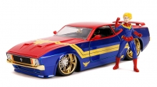 JADA 31193 1:24 1973 MUSTANG MACH 1 W/CAPITAIN MARVEL