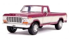 JADA 31586 1:24 1979 FORD F150 METALLIC BURGUNDY