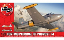 AIRFIX 02107 HUNTING PERCIVAL JET PROVOST T.4  1:72 SCALE