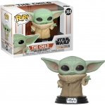 FUNKO 48740 POP STAR WARS: MANDALORIAN THE CHILD BABY YODA