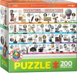 EUROGRAPHICS 6200-0724 INVENTORS AND THEIR INVENTIONS 200 PIEZAS PUZZLE