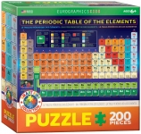 EUROGRAPHICS 6200-1001 THE PERIODIC TABLE OF ELEMENTS 200 PIEZAS PUZZLE