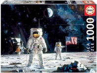 EDUCA 18459 PUZZLE 1000 PIEZAS FIRST MEN ON THE MOON