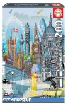 EDUCA 18470 PUZZLE 200 PIEZAS LONDRES EDUCA CITY PUZZLE