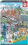 EDUCA 18471 PUZZLE 200 PIEZAS PARIS EDUCA CITY PUZZLE
