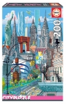 EDUCA 18472 PUZZLE 200 PIEZAS NEW YORK EDUCA CITY PUZZLE