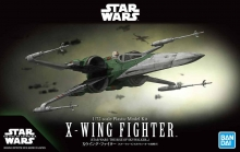 BANDAI 58313 1/72 X-WING FIGHTER (STAR WARS:THE RISE OF SKYWALKER)