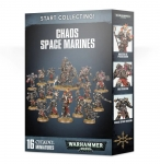 WARHAMMER 99120102108 START COLLECTING! CHAOS SPACE MARINES