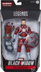 HASBRO E8761 BLACK WIDOW 6PULG LEGENDS RED GUARDIAN