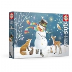 EDUCA 18957 PUZZLE 500 PIEZAS SNOWMAN & FRIENDS