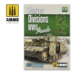 AMMO MIG JIMENEZ AMIG8061 PANZER DIVISIONS WWII. DECALS 1/35