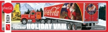 AMT 1165 1:25 COCA COLA FRUEHAUF HOLIDAY HAULER SEMI TRAILER