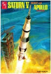 AMT 1174 1:200 SATURN V ROCKET AND APOLLO SPACECRAFT