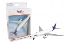 REALTOY RT1044 FEDEX CARGO AIRLINER (5PULG WINGSPAN) (DIE CAST)