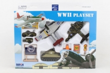 REALTOY RT1941 WWII DIE CAST PLAYSET (12PC SET)
