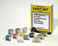 WOODLAND 125 MINI SCENE PAINT SET (12 COLORS)