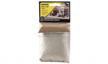 WOODLAND 1286 GRAY FINE GRAVEL (7OZ. BAG)
