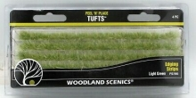 WOODLAND 780 PEEL N PLACE LIGHT GREEN EDGING STRIPS (4)