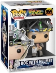 FUNKO 46914 POP! MOVIES: / BACK TO THE FUTURE- DOC W/ HELMET