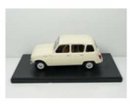 MAGAZINE 24RE4 1:24 1964 RENAULT 4 4L, WHITE