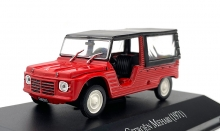 MAGAZINE ARG32 1:43 1971 CITROEN MEHARI, RED