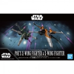 BANDAI 59231 1/144 POES X-WING FIGHTER & X-WING FIGHTER (STAR WARS:THE RISE OF SKYWALKER)