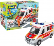 REVELL 00824 AMBULANCE CAR WITH FIGURE