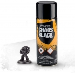 WARHAMMER 99209999042 CHAOS BLACK SPRAY (GLOBAL)