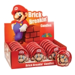 CANDY 17294 SUPER MARIO - MARIO BRICK BREAKIN CANDY - 18-PACK (NINTENDO)