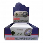 CANDY 17507 SUPER NINTENDO CONTROLLER - WIRED BERRY SOURS - 12-PACK (NINTENDO)