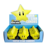 CANDY 17229 SUPER MARIO SUPER STAR - SOUR 18 PACK (NINTENDO)